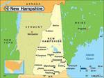 New Hampshire karta
