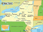New York karta