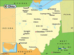Ohio karta