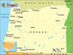 Oregon karta