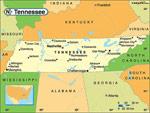 Tennessee karta