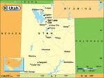 Utah karta