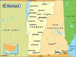 Vermont karta