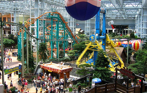 Mall of America Rollercoaster
