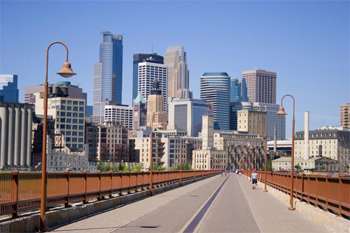 Minneapolis i Minnesota