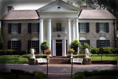 Elvis house in Memphis