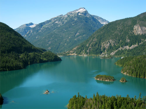 Diablo Lake - Olympia National Park